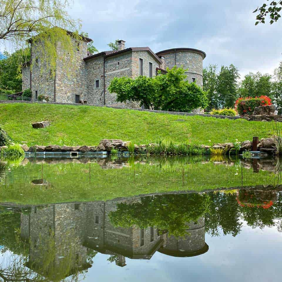 vini bio e natura al castello della Mugazzena